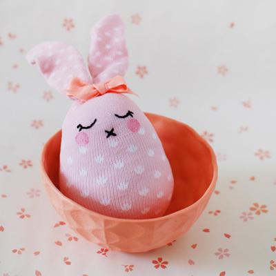 the red thread tutorial rabbit softie