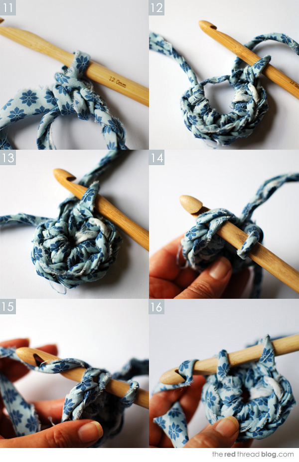 the red thread fabric crochet tutorial 3