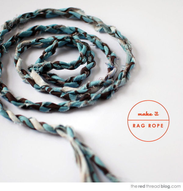 the red thread rag rope tutorial