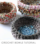 the red thread CROCHET BASKETS