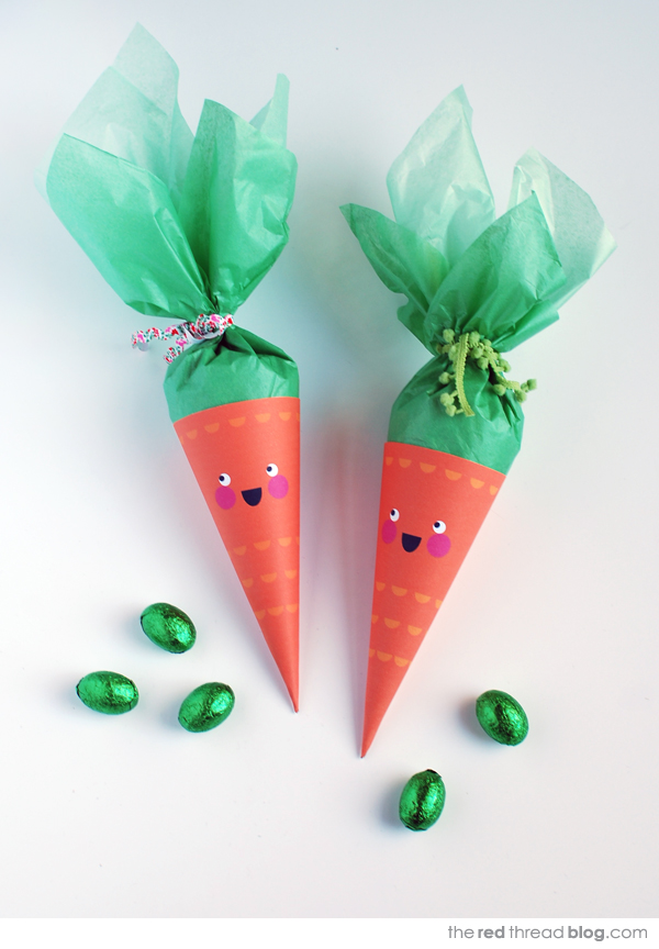 the red thread Easter carrot printable