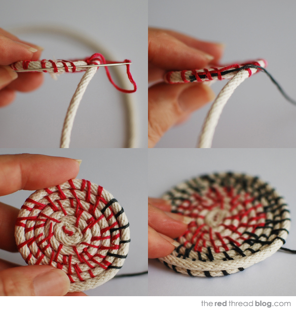 the red thread coil bowls tutorial 3