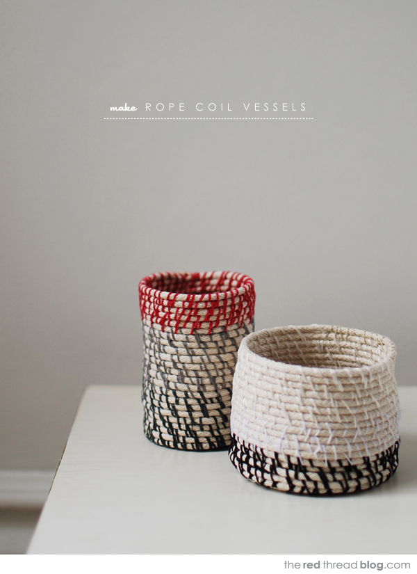 the red thread rope coil vessels tutorial