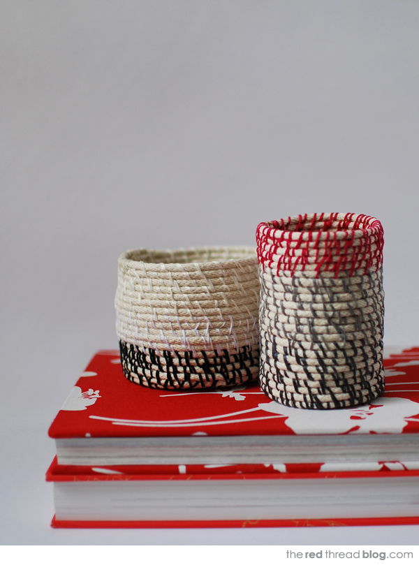 the red thread rope coil vessels
