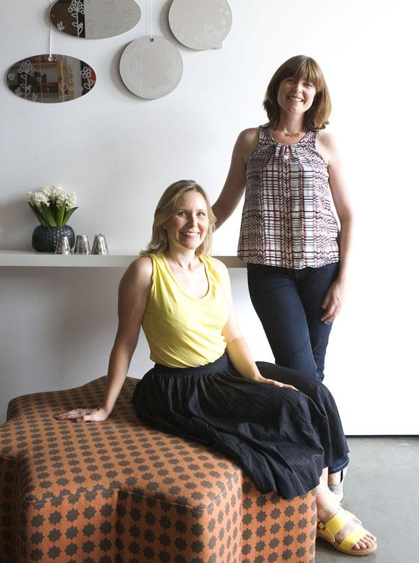 Maja and Tess in Studio_crop