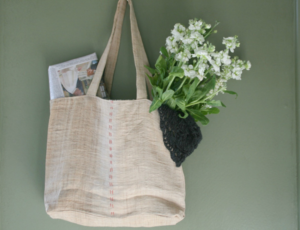 Melissa Wastney bag via the red thread