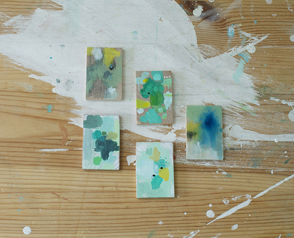 Belinda Marshall mini paintings