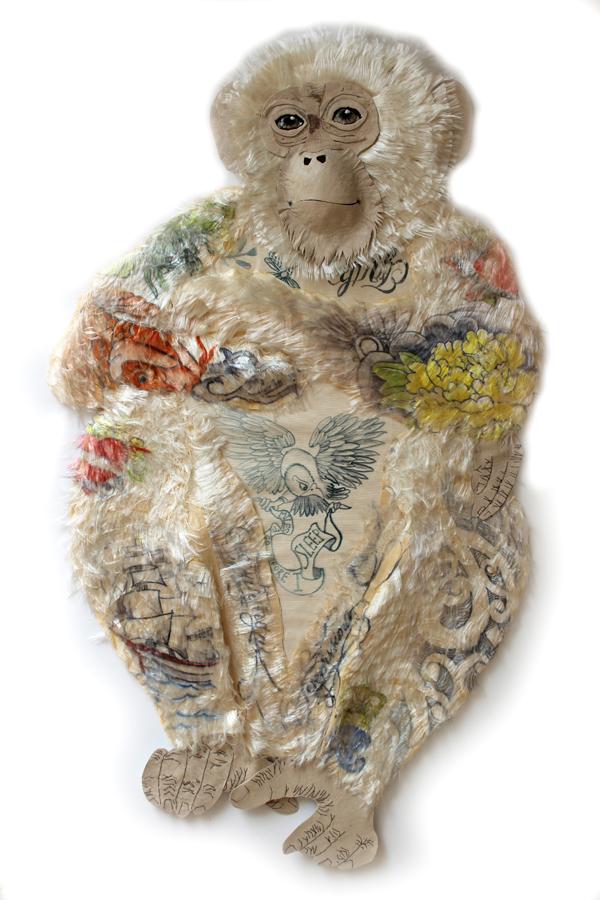Karen Nichol cheeky monkey