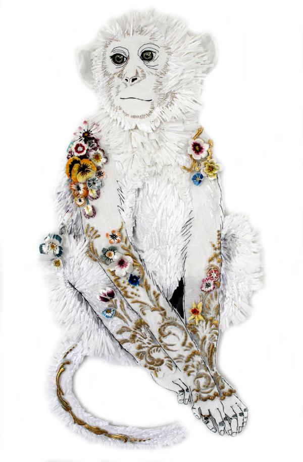 Karen Nichol monkey from coalbrookdale 2