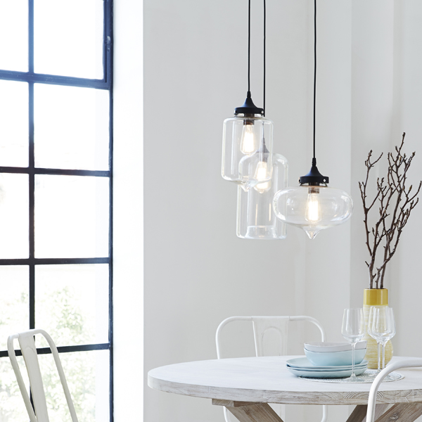 Freedom pendant lights via the red thread