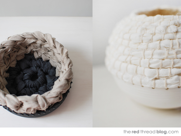 Lisa Tilse decorative vessels via the red thread