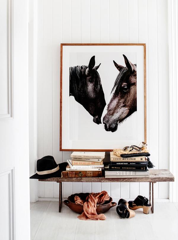 Kara Rosenlund horse print