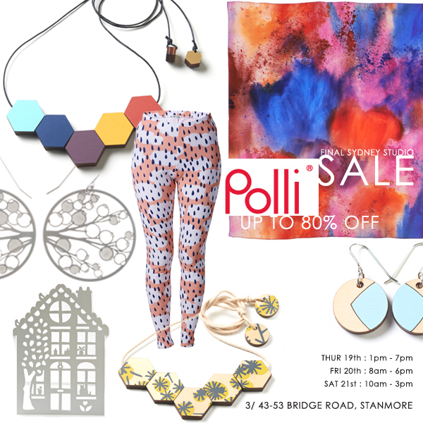 Polli sale via the red thread