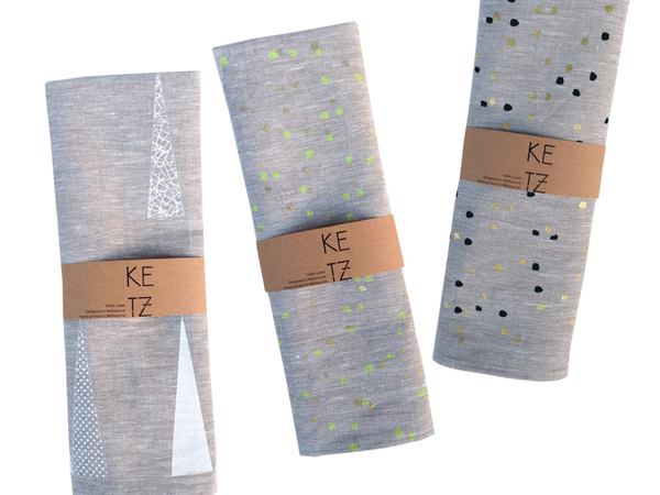 Ketz tea Towels via the red thread